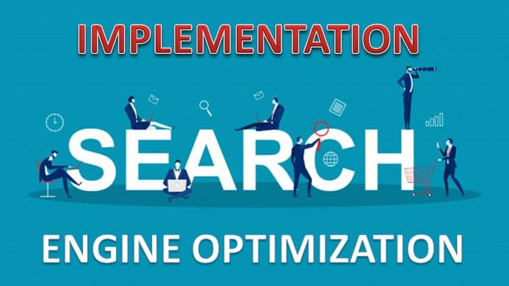 SEO Implementation for New Website Project