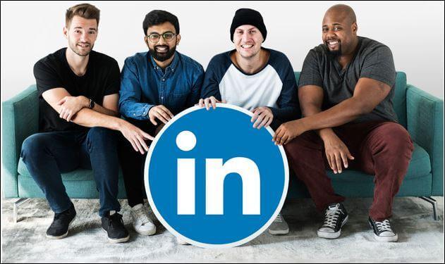 LinkedIn Social Media Marketing Website