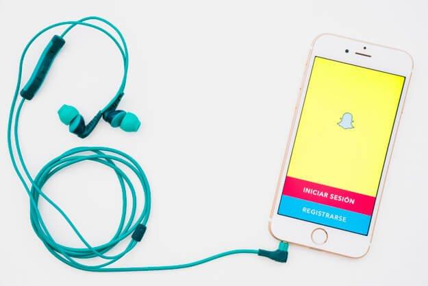 Snapchat Social Media Marketing Website