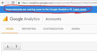 Changes coming soon - Google Analytics 2016