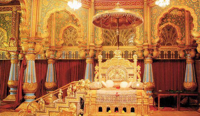 Golden Thrown Mysore Palace