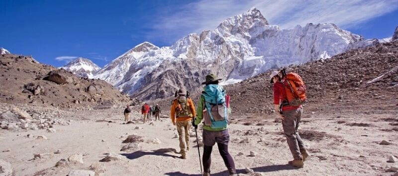 Short Himalaya Mount Everest Region Base Camp and Trekking