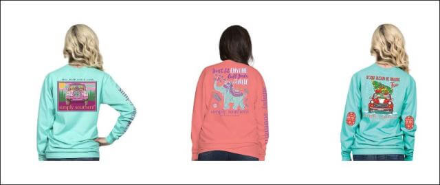 Simply Southern Long Sleeve T-Shirts to Keep you Warm this Season
