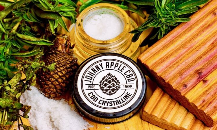 Johnny Apple Concentrated CBD Dab Wax Helps Relieve Joint and Muscle Pain
